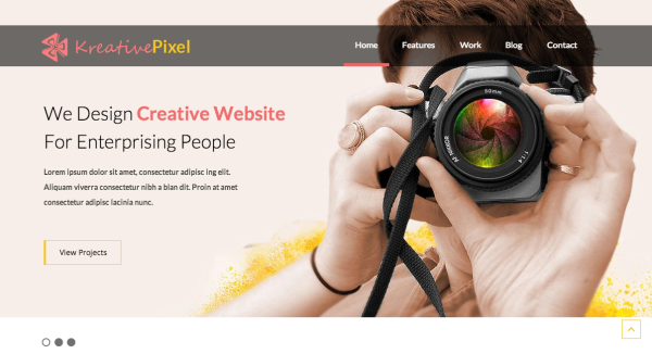 Бесплатные HTML5 CSS3 шаблоны-photography-teplates
